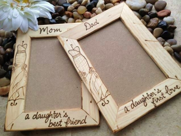 Wedding Gifts For Parents Photo Frames : Wedding Gifts for Parents of the Bride Mom And Dad with YOUR Wedding ...