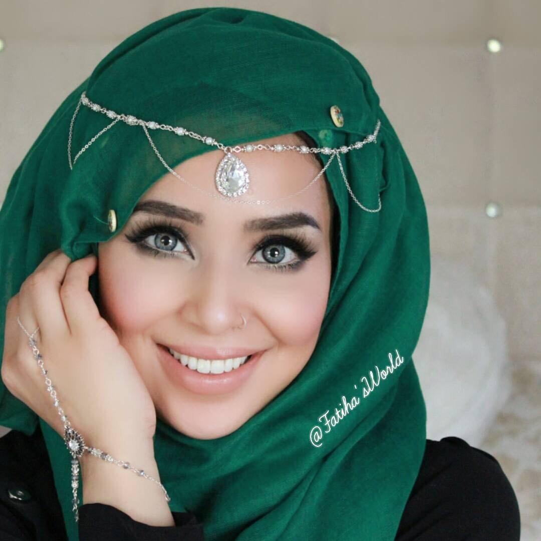 Items Similar To Green Headpiece Gold Chain Headwear