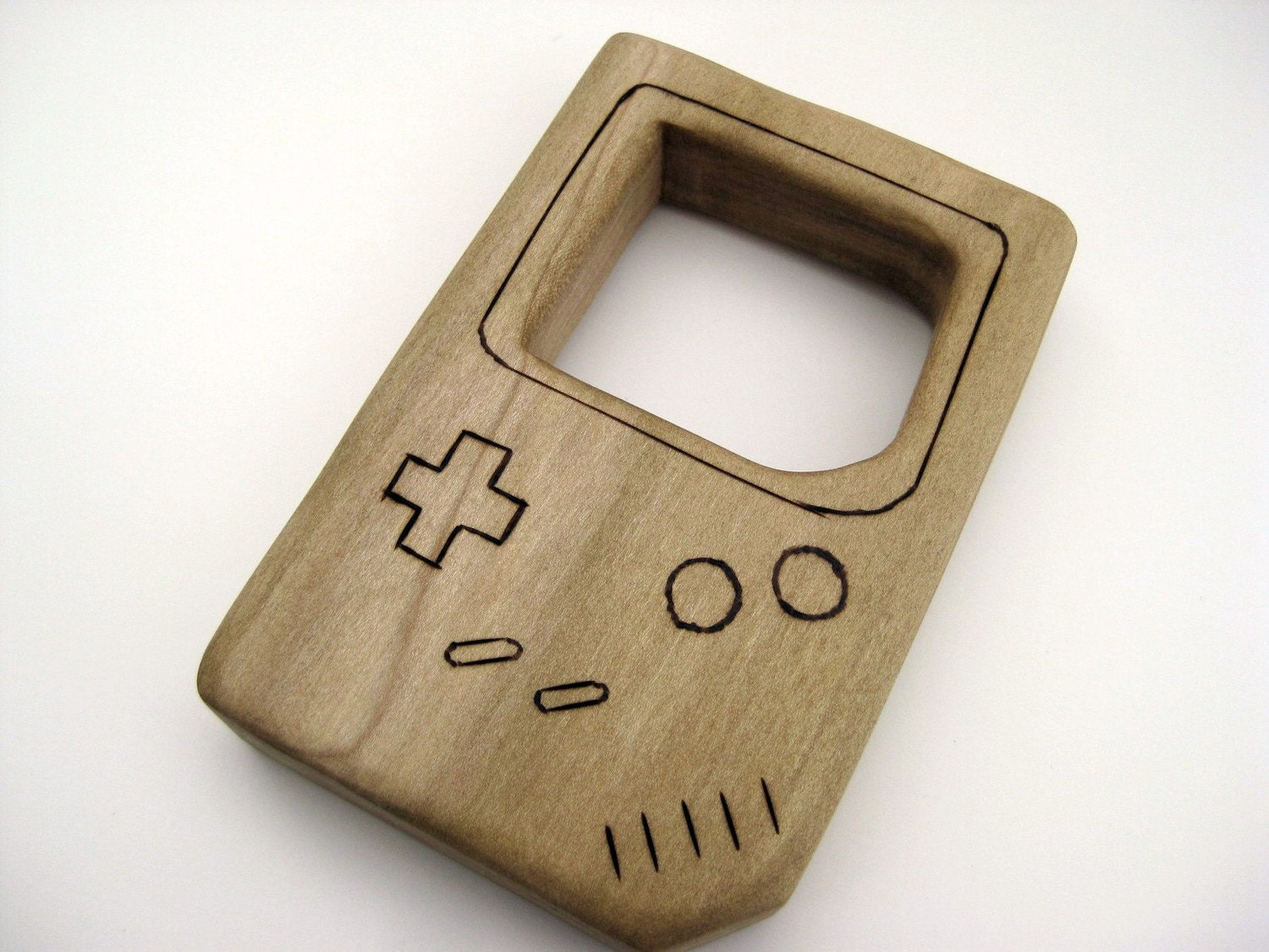 Gamebaby - Natural Wooden Teething/Clutch Toy --- Made to Order