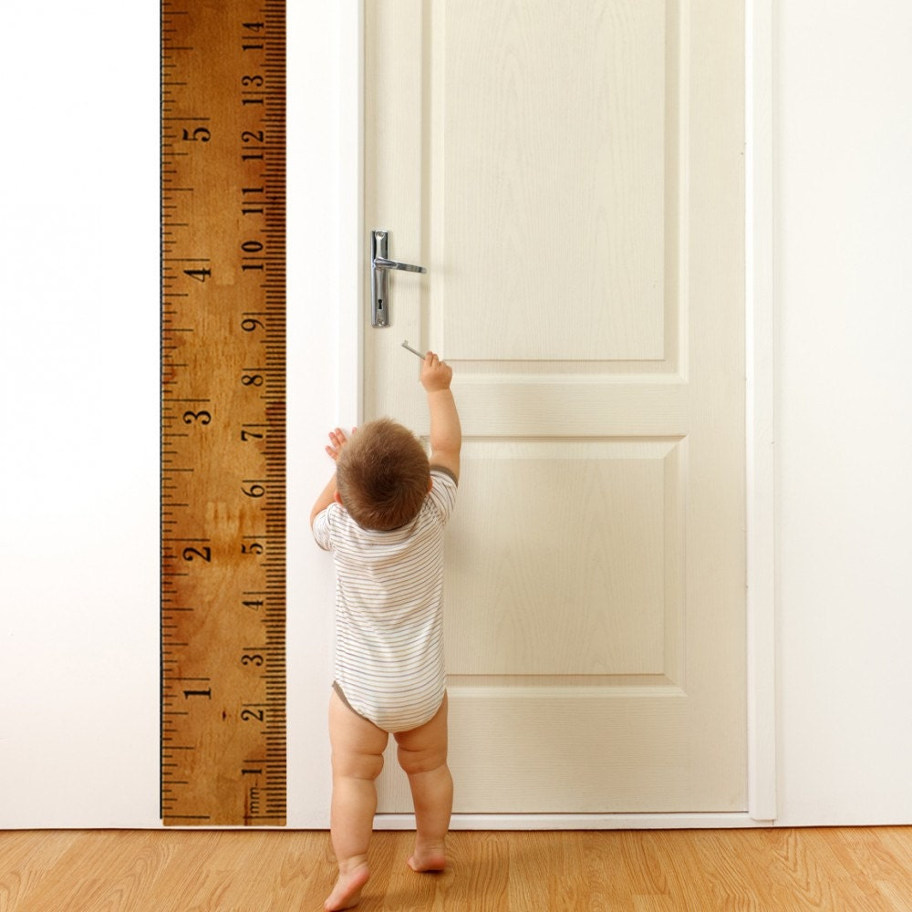 Ruler Growth Chart - WallsNeedLove