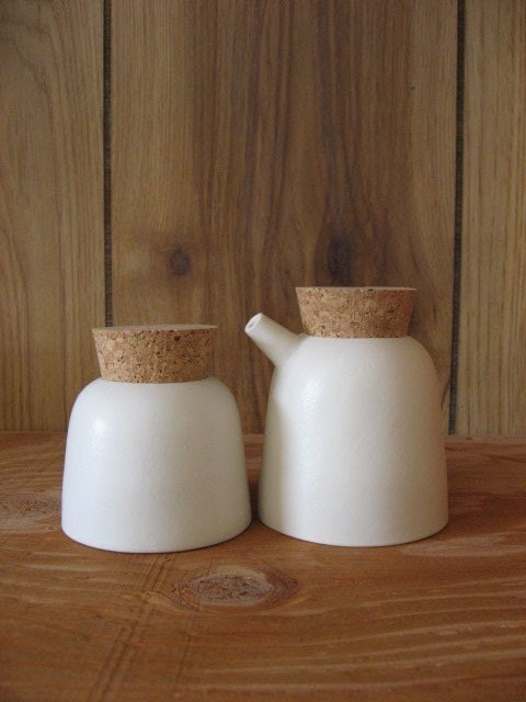 Sm Spout Cream and Sugar set