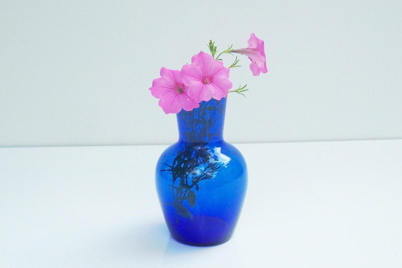 Antique Blue Glass Vases Antique Blue Glass