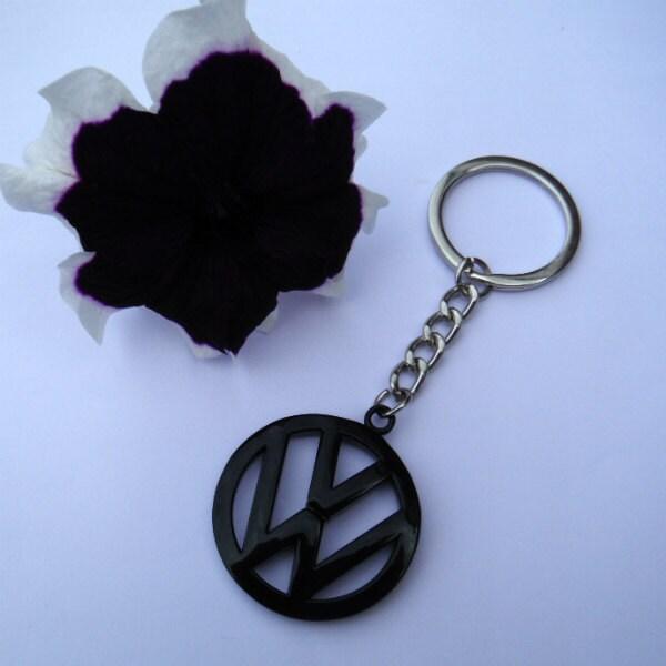 VW Volkswagen Campervan Bus Beetle Key Chain Ring Metal