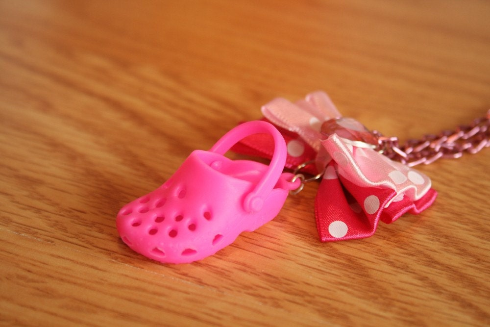 Where's the other croc shoe necklace