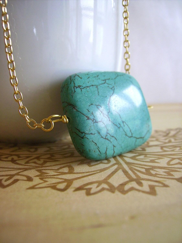 NINA in turquoise