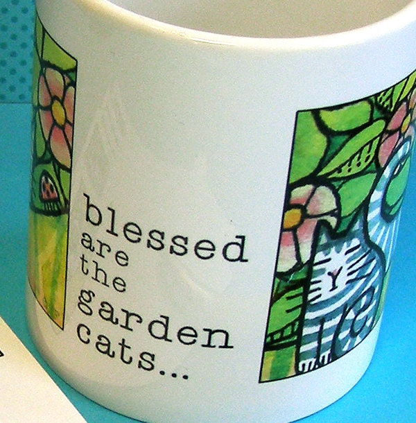Garden Kittens Mug and Memos Gift Set
