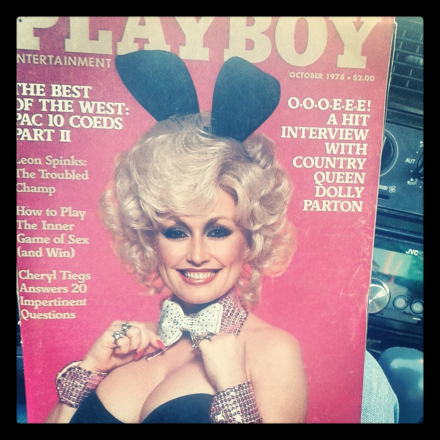 Dolly parton playboy
