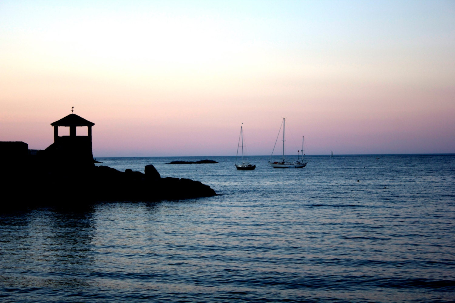 Photo titled, Twilight Tower, taken in Rockport, Massachusetts, USA  May 2011