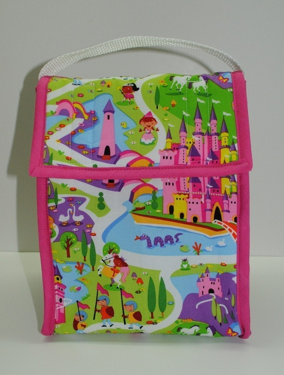 Insulated Lunch Bag Michael Miller Lil Kingdom
