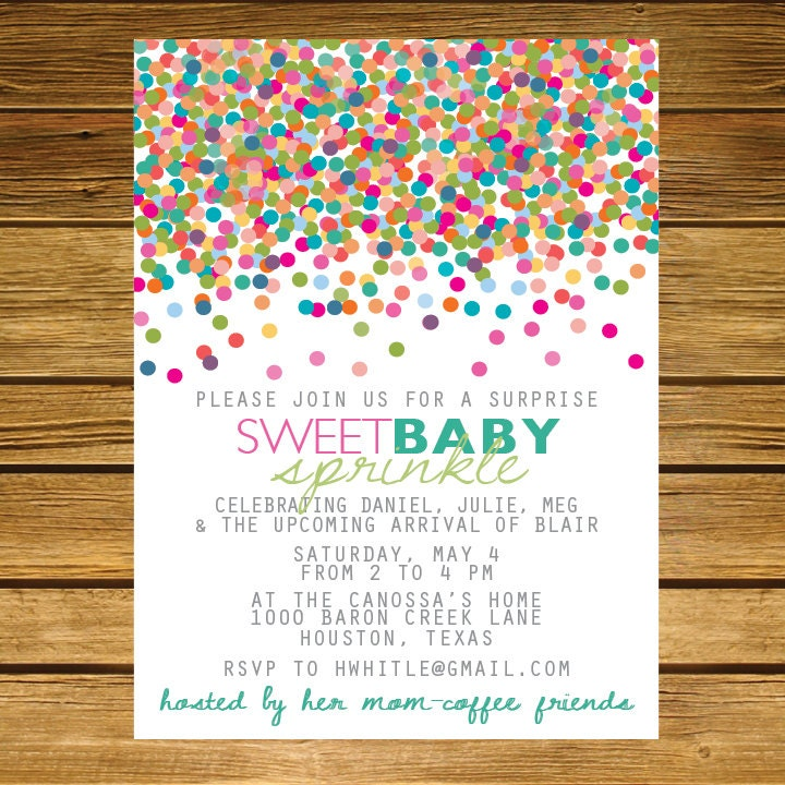 Meet The Baby Invitations was adorable invitations example
