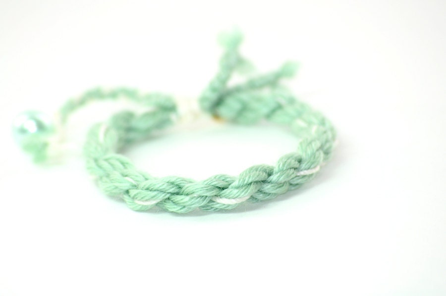 sweet kiwi bracelet