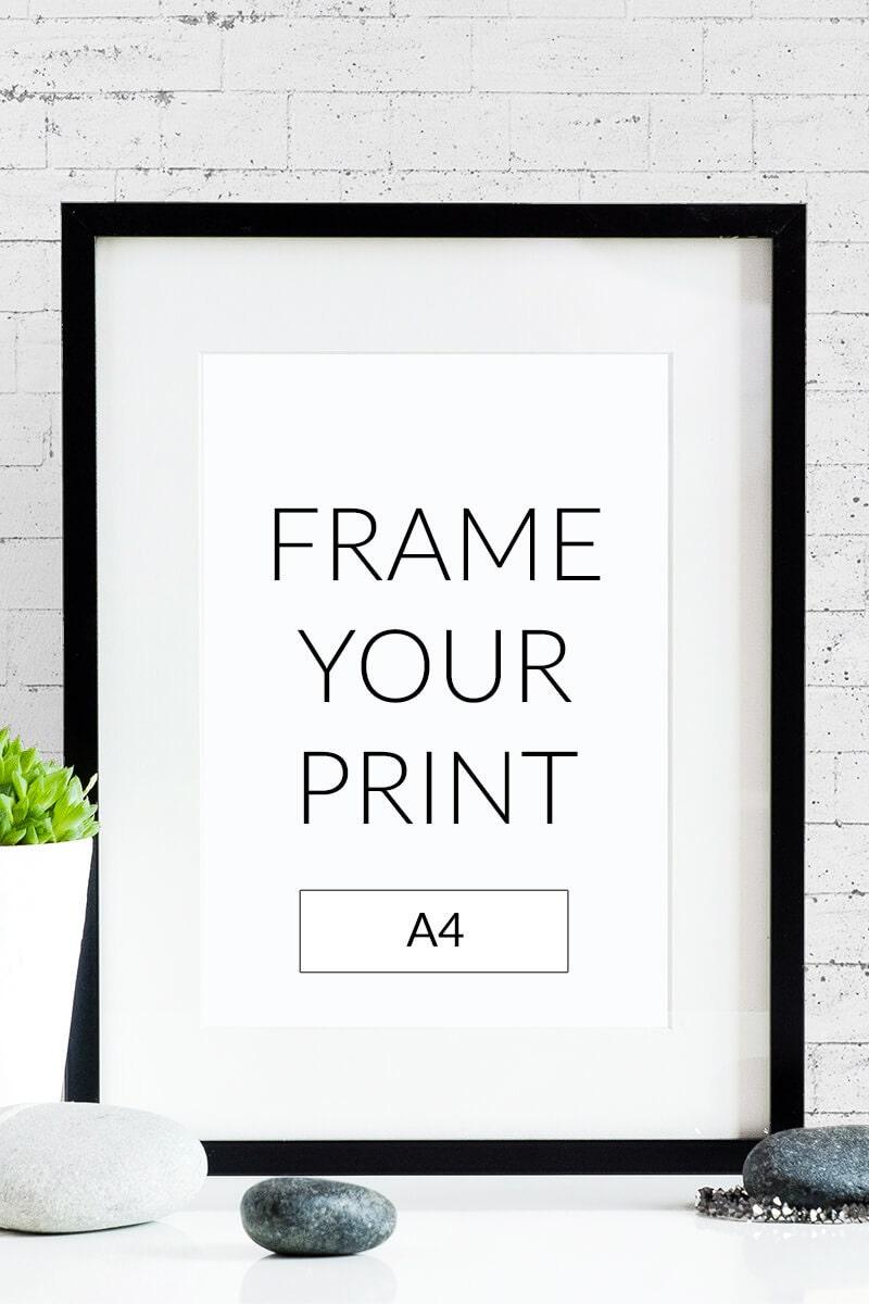 Poster frame 30 x 30
