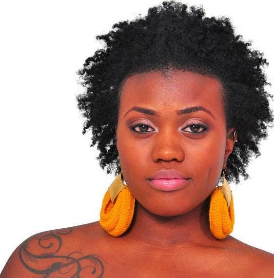 Crochet earrings - The Goddess