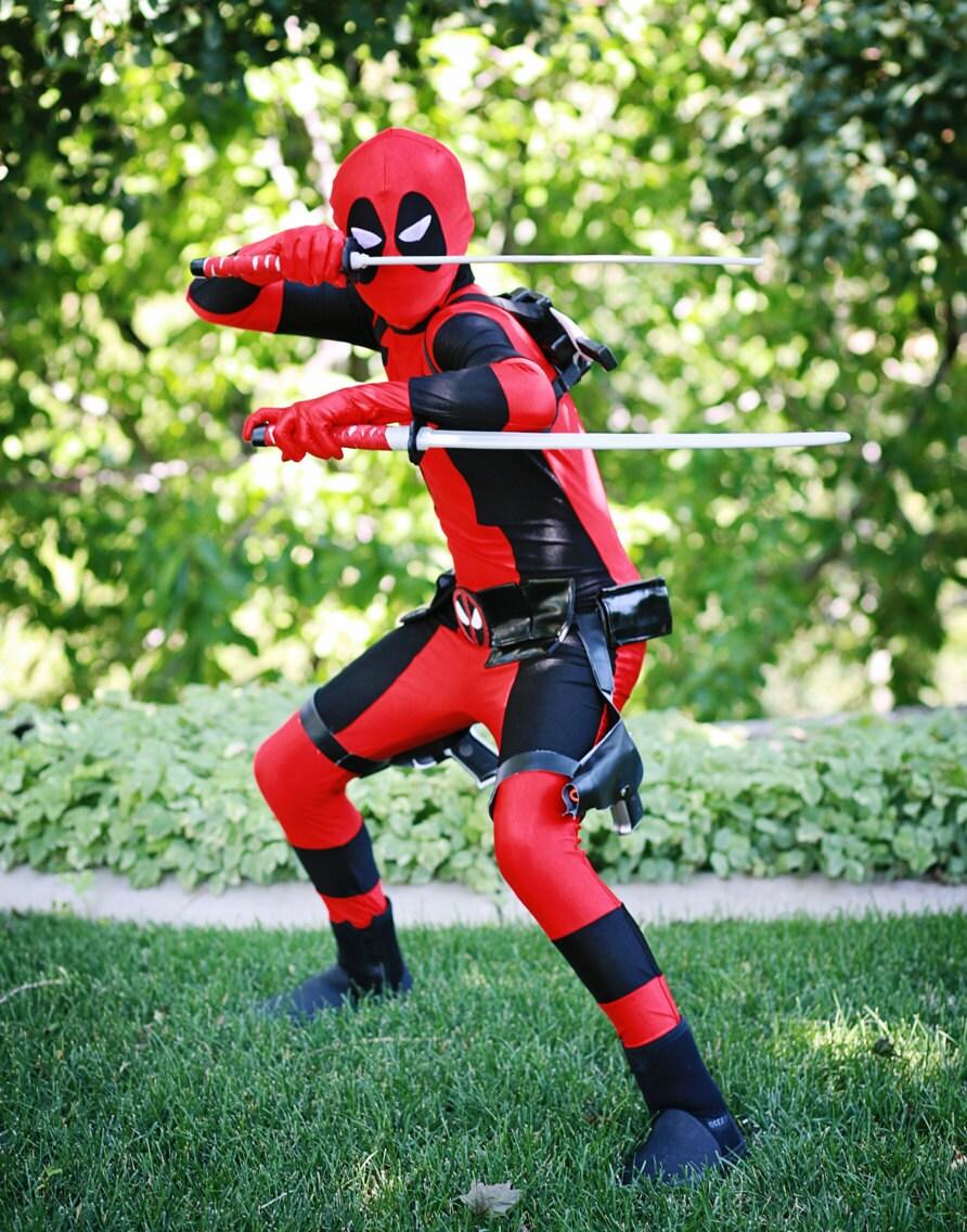 Deadpool Halloween Costume Kid