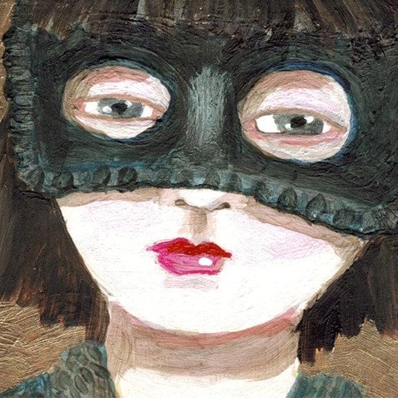 Etsy :: bombalurina :: flat art from etsy.com