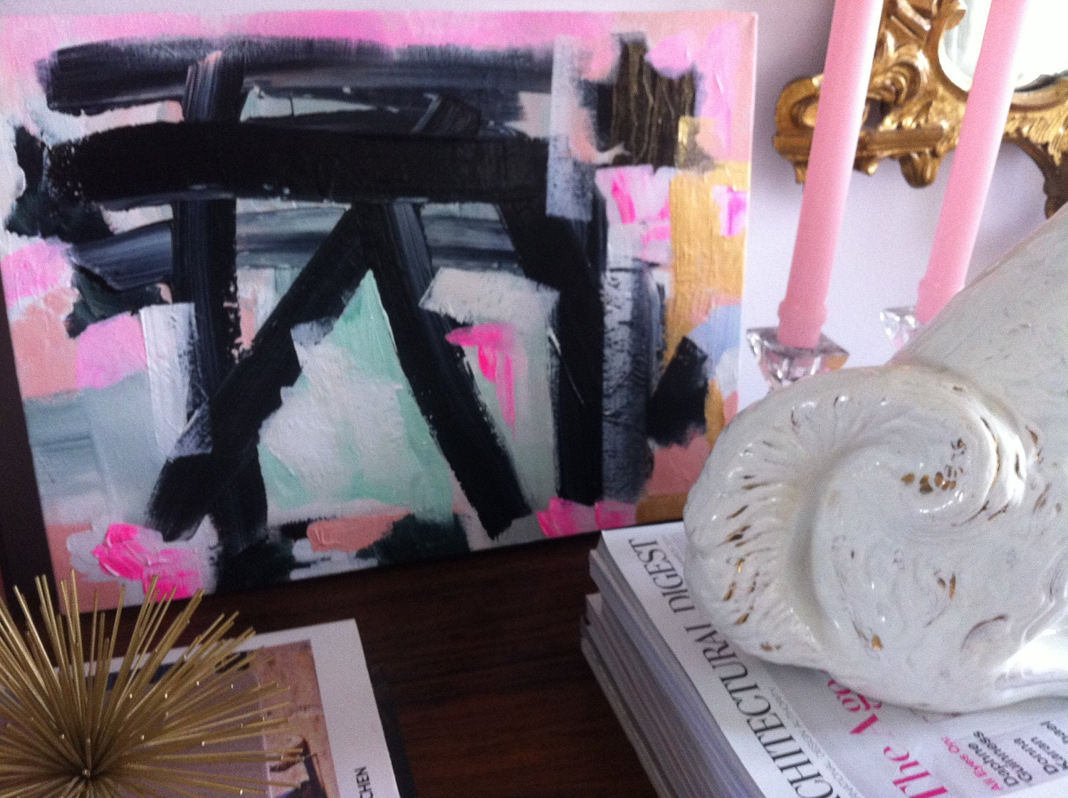 Eliza, original abstract painting