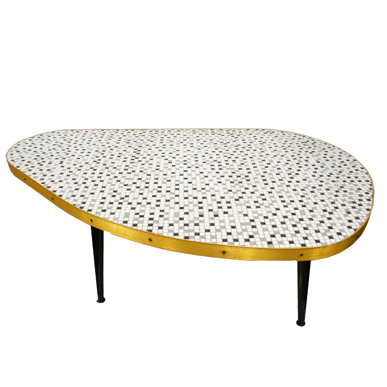 Atomic Cocktail Table Mid Century Modern Tile By Themodernhistoric