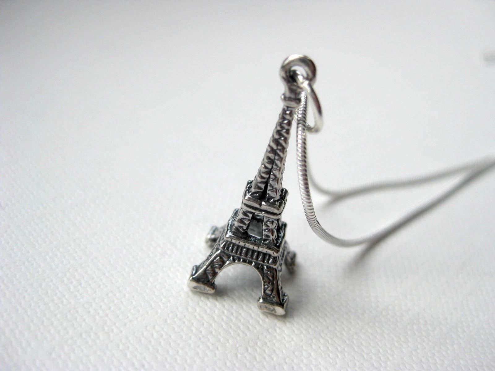 Eiffel Tower - Sterling Silver