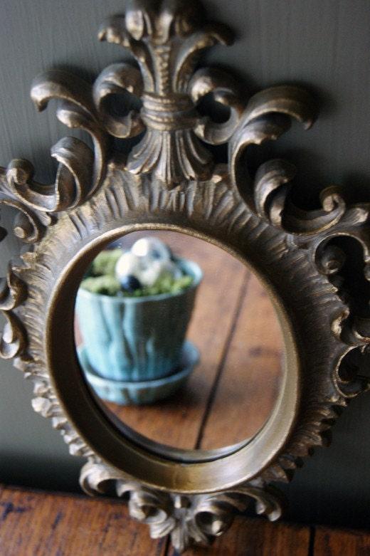 Vintage Rococo Style Burwood Accent Mirror