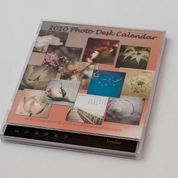 2010 Photo Desk Calendar