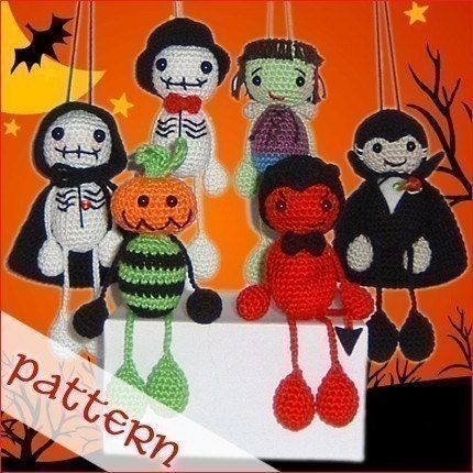 PDF Pattern - Halloween Collection