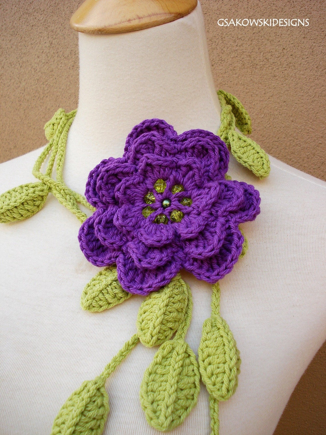 How to Get Creative With Crochet Flowers | eHow.com