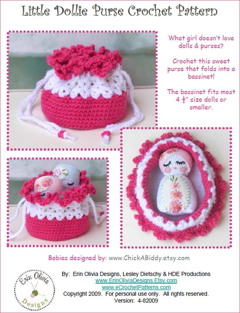 Free Crochet Pattern - Michael's Bunting Bag from the Baby
