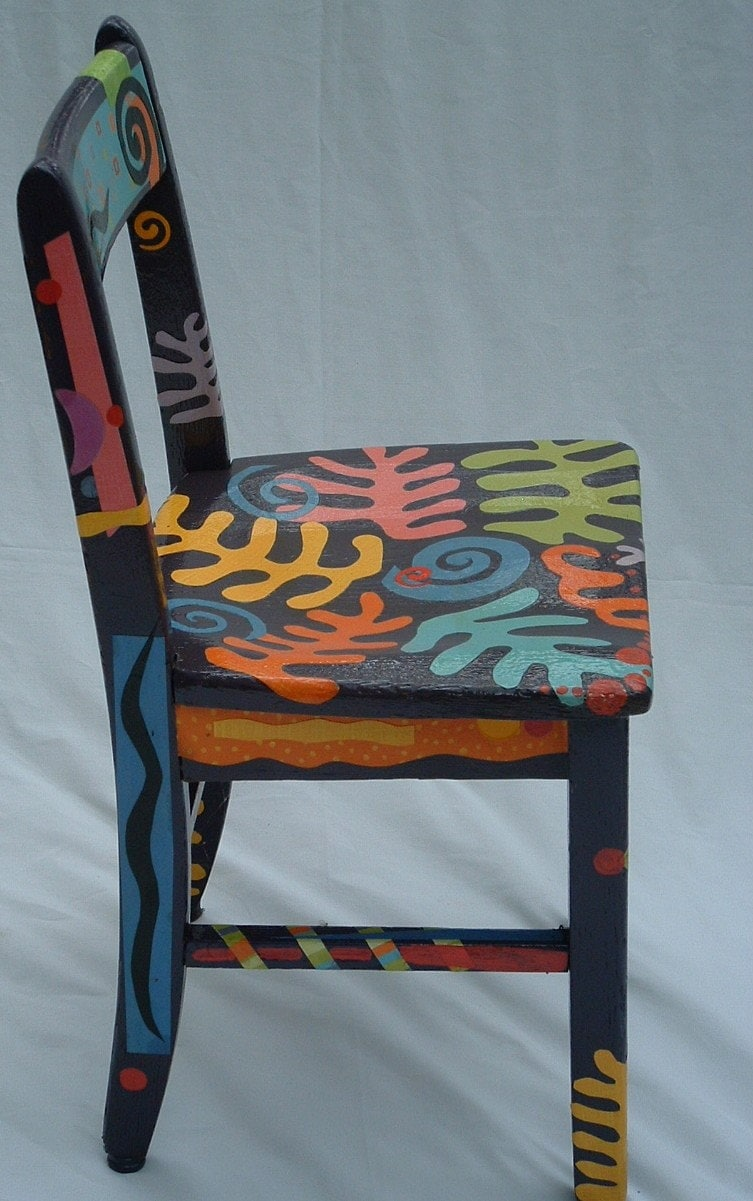 Matisse inspired chair