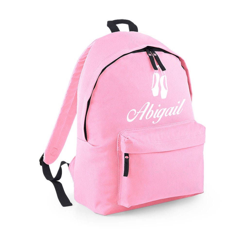 Personalised Backpack with ANY NAME Kids Children Nursery Gym School Student Rucksack