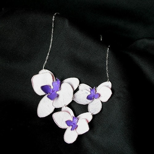 CUSTOM- Orchid Necklace