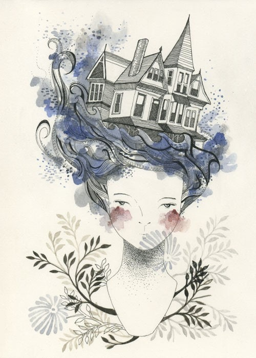 House by the Sea - Limited Edition Print
