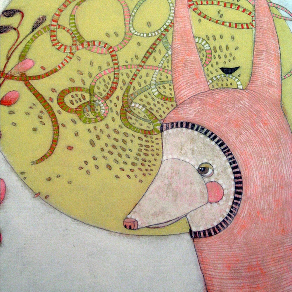 beholder - original painting - jenniferdavis