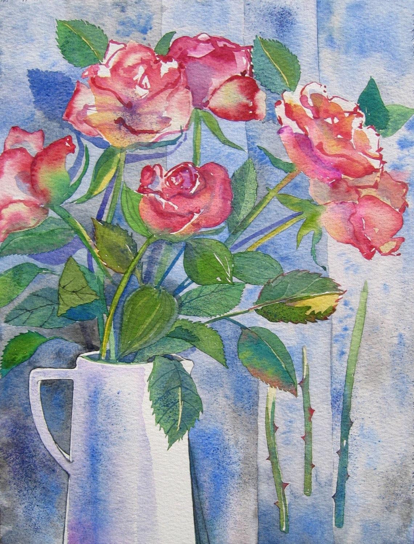 Roses - Giclee Fine Art Print