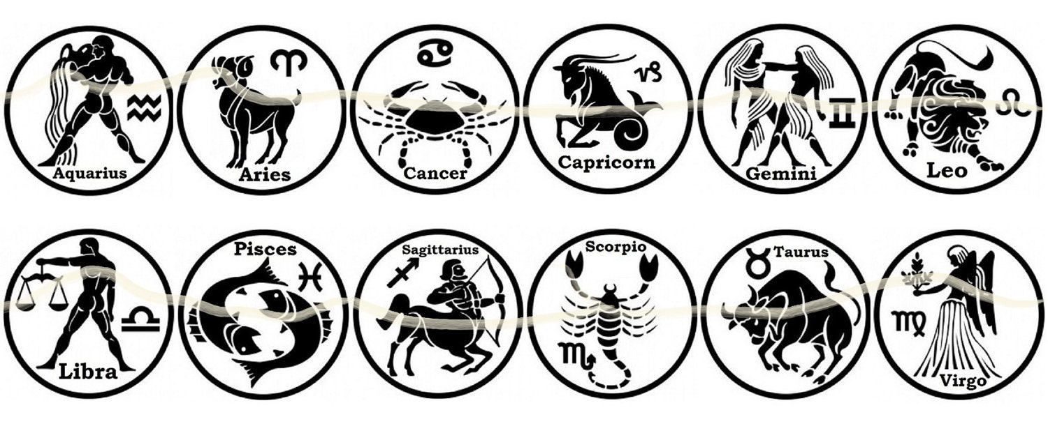 astrology sign zodiac fun jewelry bottlecap earrings 12 zodiacs available ebay. Black Bedroom Furniture Sets. Home Design Ideas