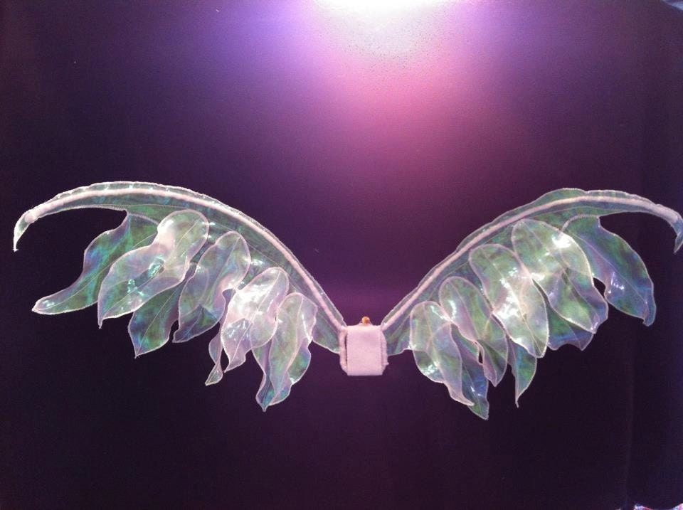 Iridesent Angel Wings