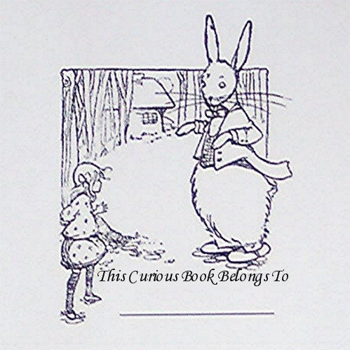 Alice In Wonderland Bookplates