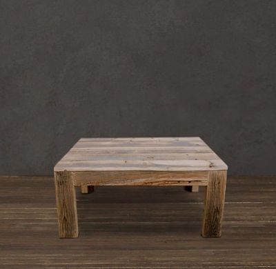 Jw atlas wood co reclaimed wood coffee table for Price of reclaimed barn wood