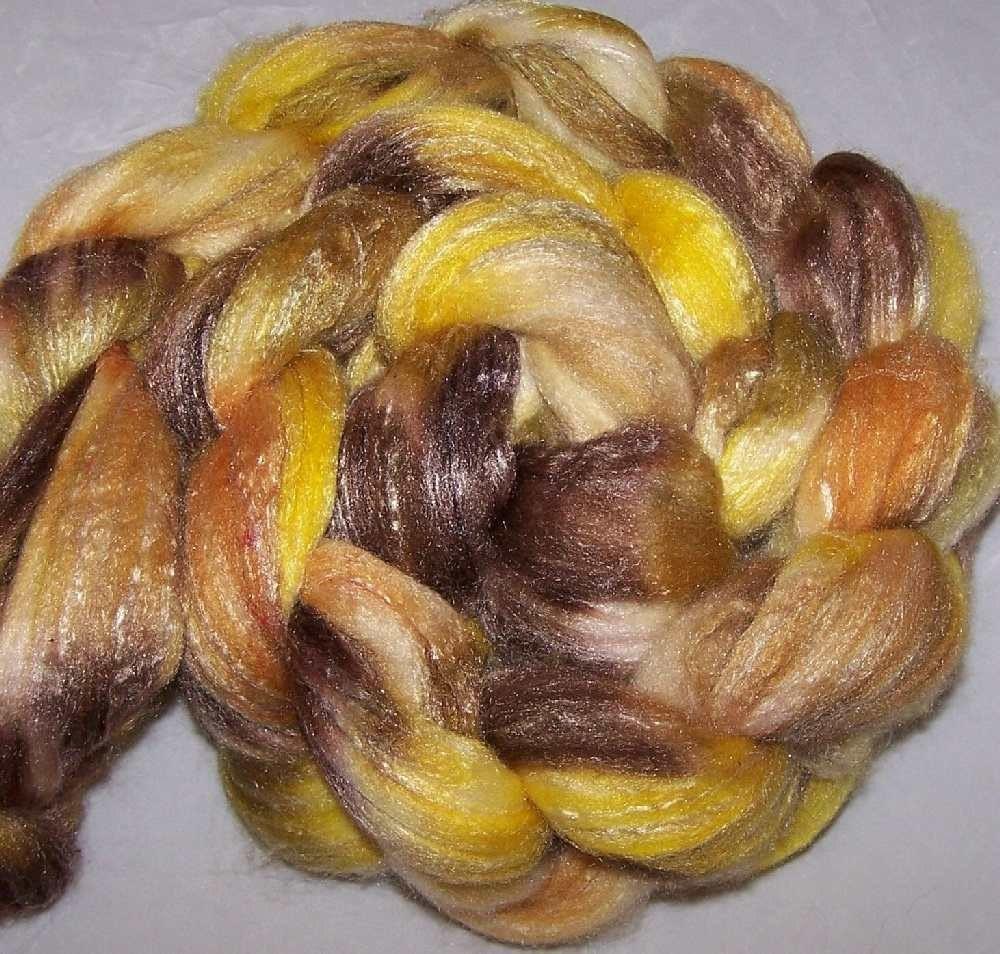 Hand-dyed Roving - Merino Bamboo Nylon-7.9oz-DDS 0-26