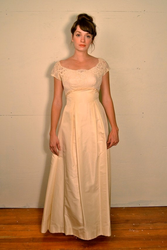 1950 neiman marcus wedding dress by spanovintage on etsy