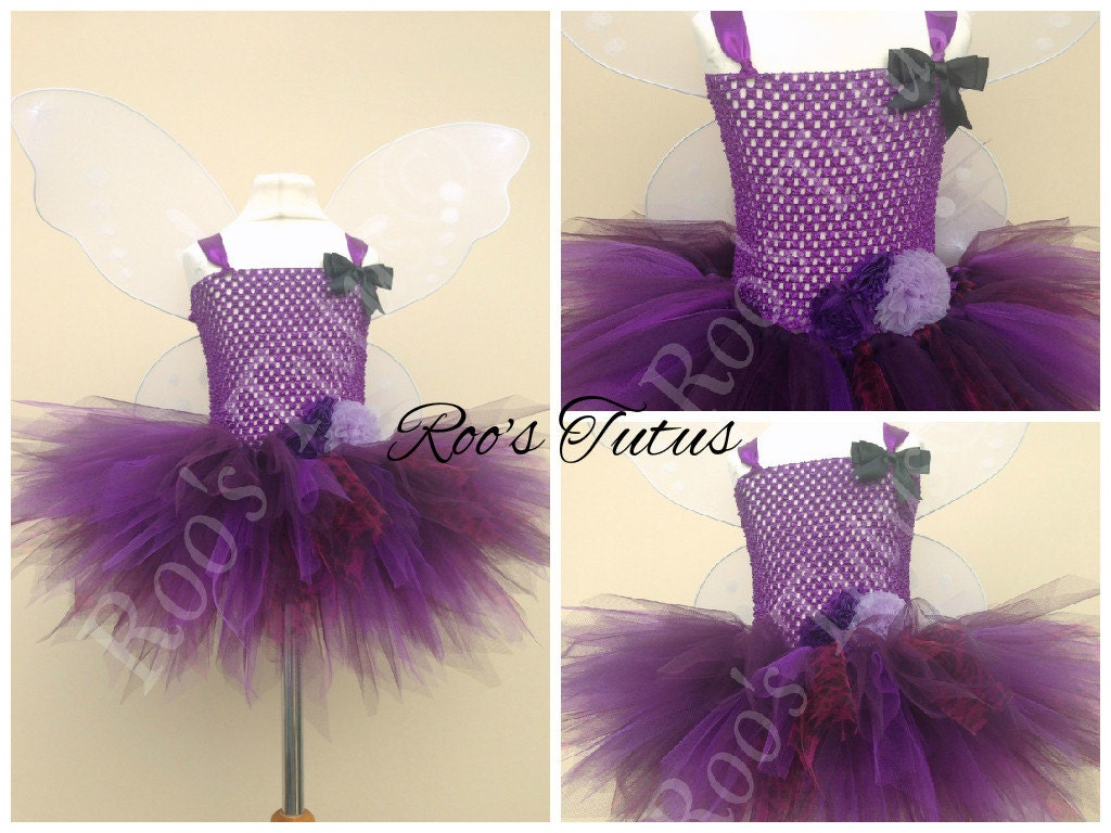 Vidia Fairy (Tinkerbell) inspired tutu dress costume (Handmade). Fairy dress up