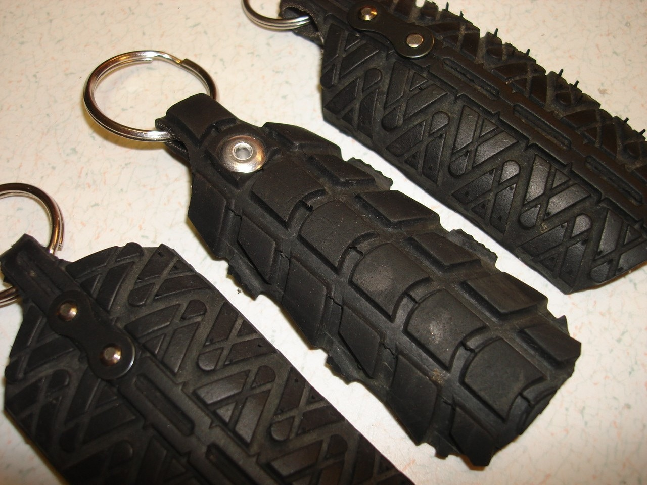 Bike Tire Key Fob