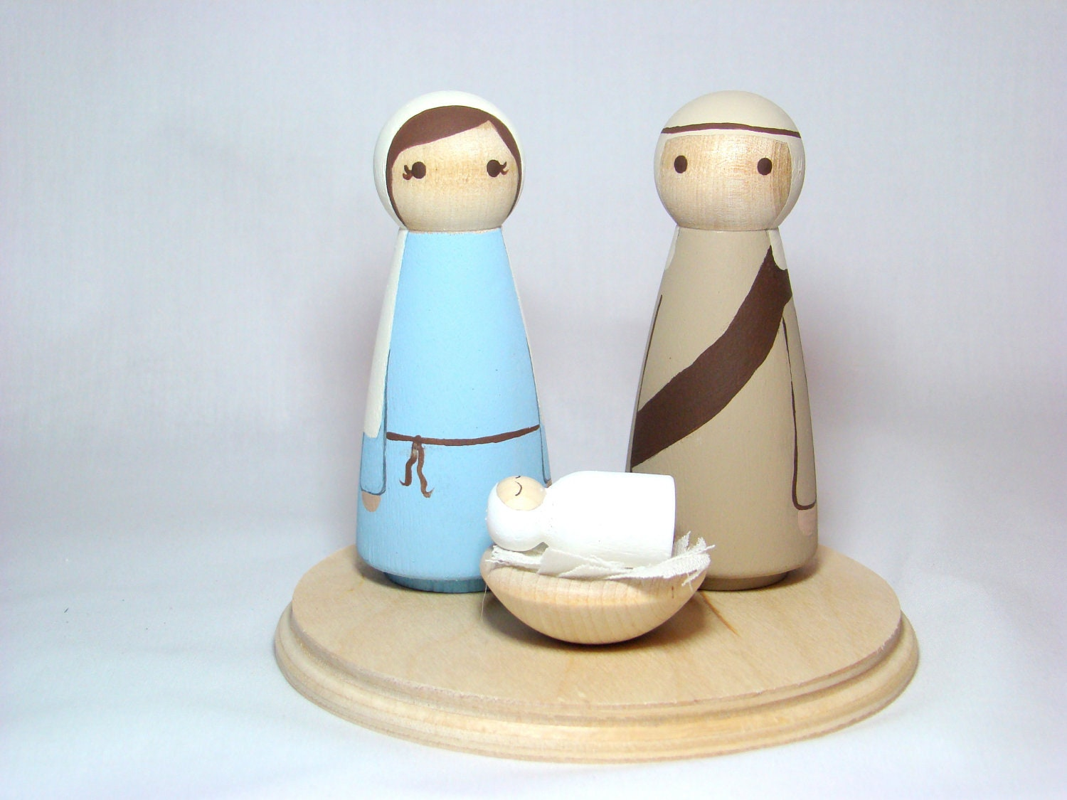 Mary, Joseph and Baby Jesus Nativity Set