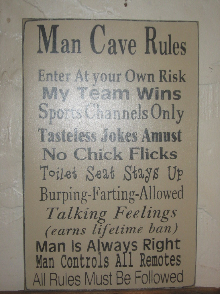 Man Cave Word Art : Man cave rules word art typography by frommyheartprims