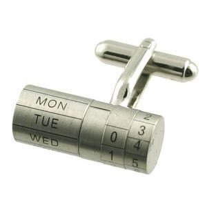 Calendar Cuff Links