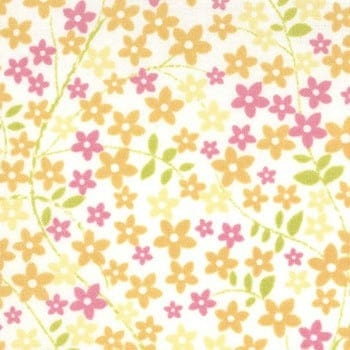 Sunkissed by Sweetwater for Moda Fabrics - Meadow Sweet in Ivory 1 Yard