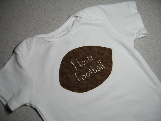 Football lover's onesie