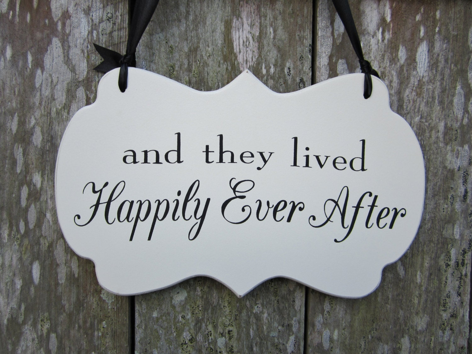 and they live happily ever after The end of happily ever after  and they lived happily ever after, my father said  they went over the top and gave it the most ridiculously happy ending ever.
