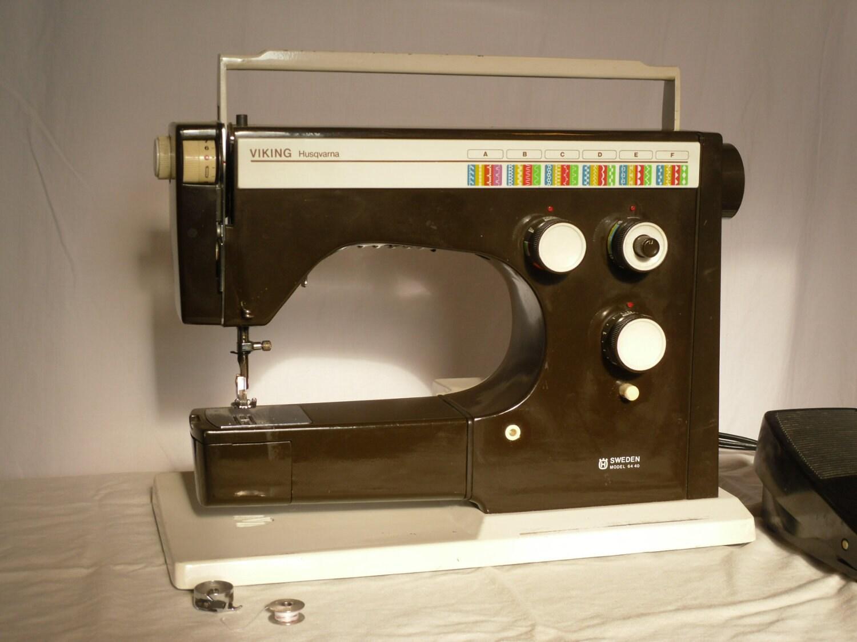 Husqvarna viking sewing machine Etsy