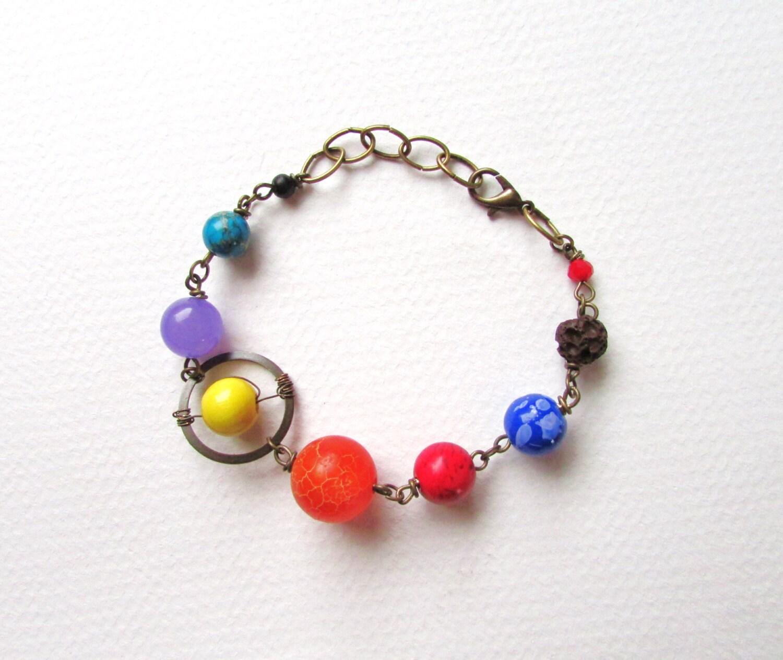solar system bracelet - photo #2