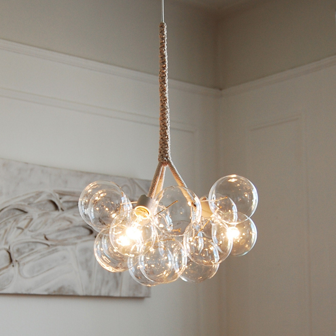 The Original Medium Bubble Chandelier by PELLE by jeanpelle from etsy.com